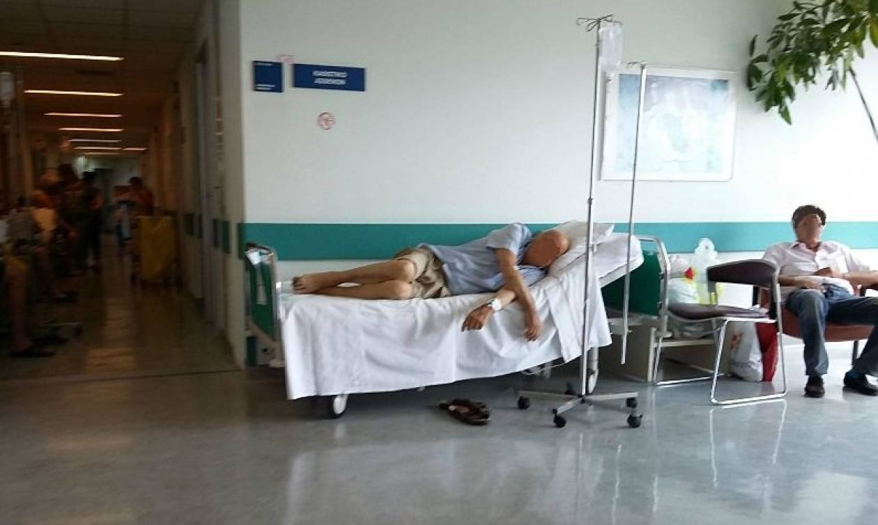 Νοσοκομείο «Αττικόν»: 140 ράντζα στη γενική εφημερία! (pics)