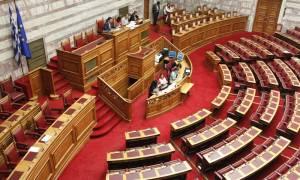 Ερώτηση 42 βουλευτών της ΝΔ με επικεφαλής τον Κ. Καραμανλή για τον αφελληνισμό των τραπεζών