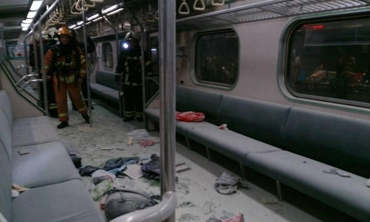 Ταϊβάν: Έφθασαν τους 25 οι τραυματίες της έκρηξης σε τρένο στην Ταϊπέι