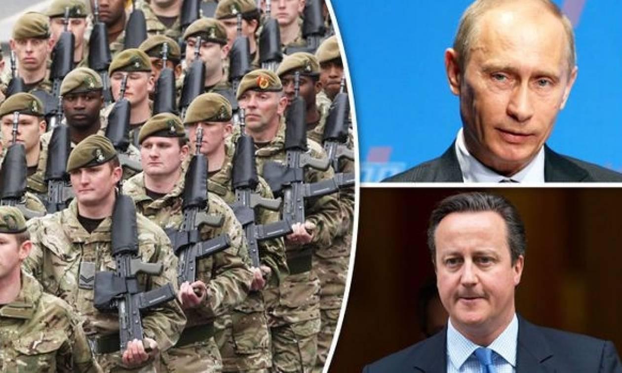 Τύμπανα πολέμου: Η Βρετανία στέλνει στρατεύματα κατά του Πούτιν