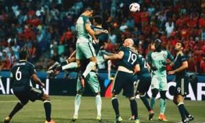 Euro 2016: Ο Ρονάλντο έφτασε στα 2,61 μέτρα με άλμα 76,2 εκατοστά για να νικήσει τους Ουαλούς