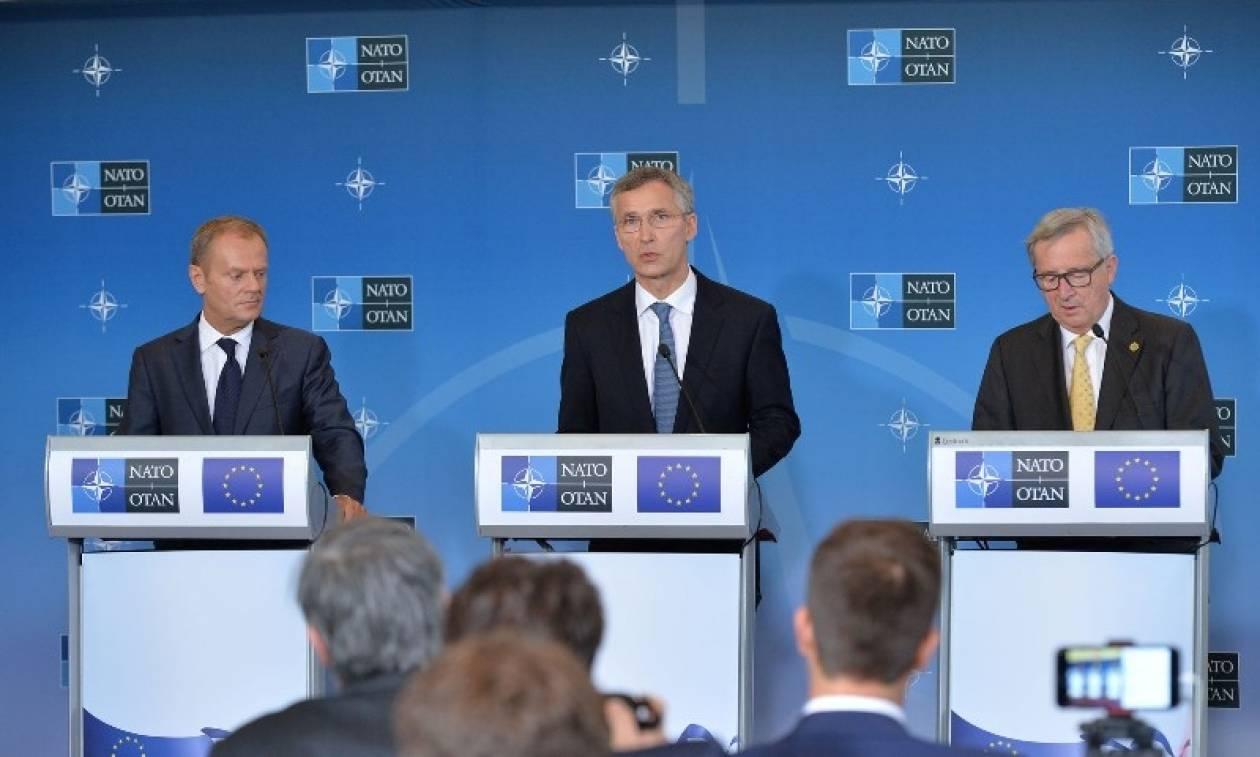 Σύνοδος ΝΑΤΟ: Συμφωνία για περαιτέρω αναβάθμιση της ασφάλειας και της σχέσης με ΕΕ