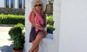 Οι πρώτες φωτογραφίες της Ελένης Μενεγάκη από τις καλοκαιρινές της διακοπές