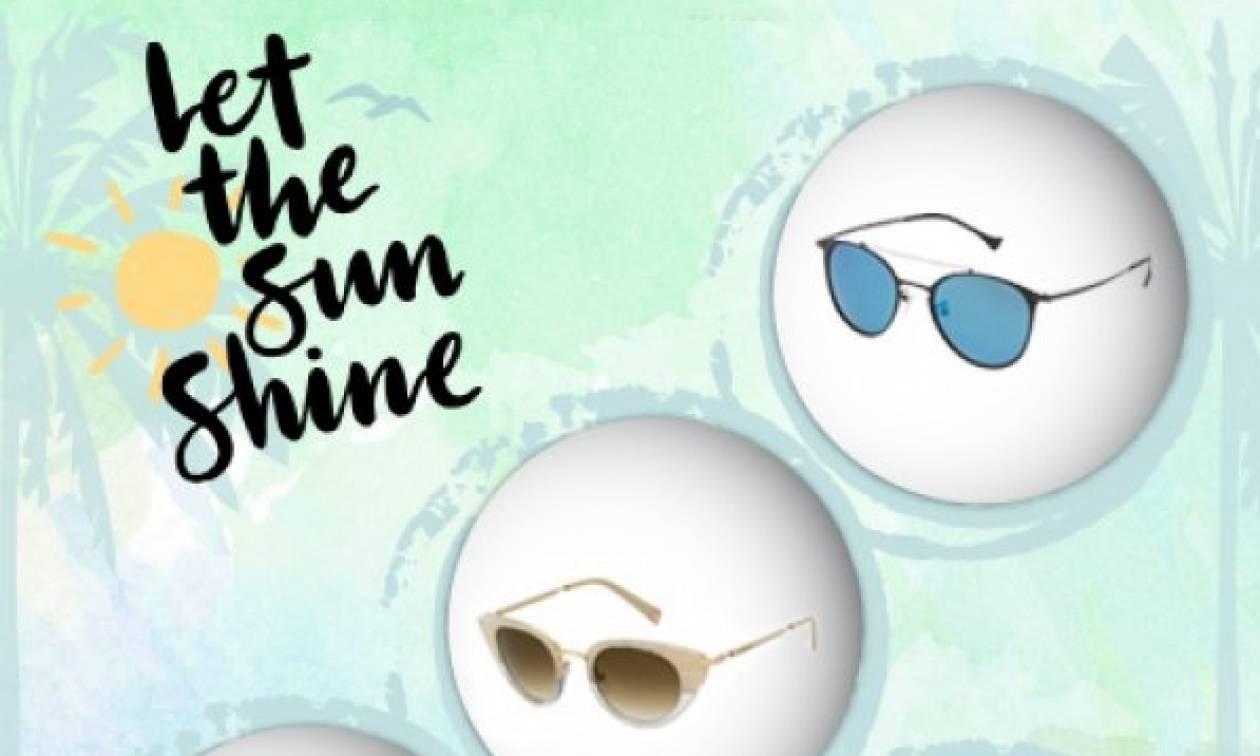 Ο απόλυτος οδηγός για να διαλέξεις τα ιδανικά γυαλιά ηλίου για το πρόσωπό σου!