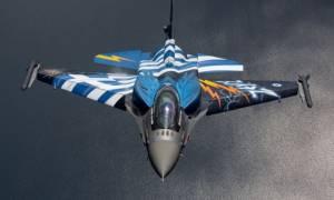 Tο F16  της ομάδας «ΖΕΥΣ» τους άφησε άφωνους (pics +vid)