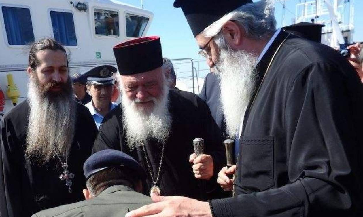 Για πρώτη φορά Αρχιεπίσκοπος στη Σαμοθράκη (pics)