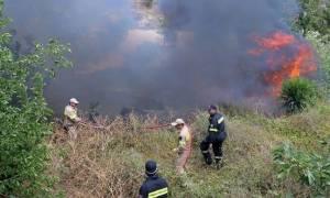Υπό έλεγχο δύο πυρκαγιές σε Κορινθία και Μέθανα