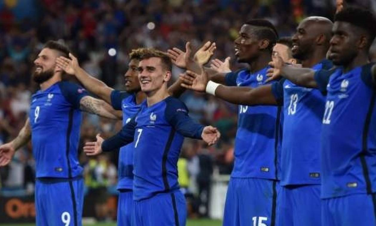 Euro 2016: Το Ιnfographic του μεγάλου τελικού