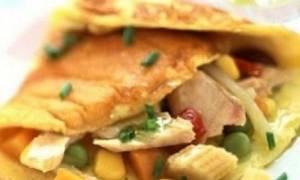 Πεντανόστιμη ομελέτα με τόνο και λαχανικά!
