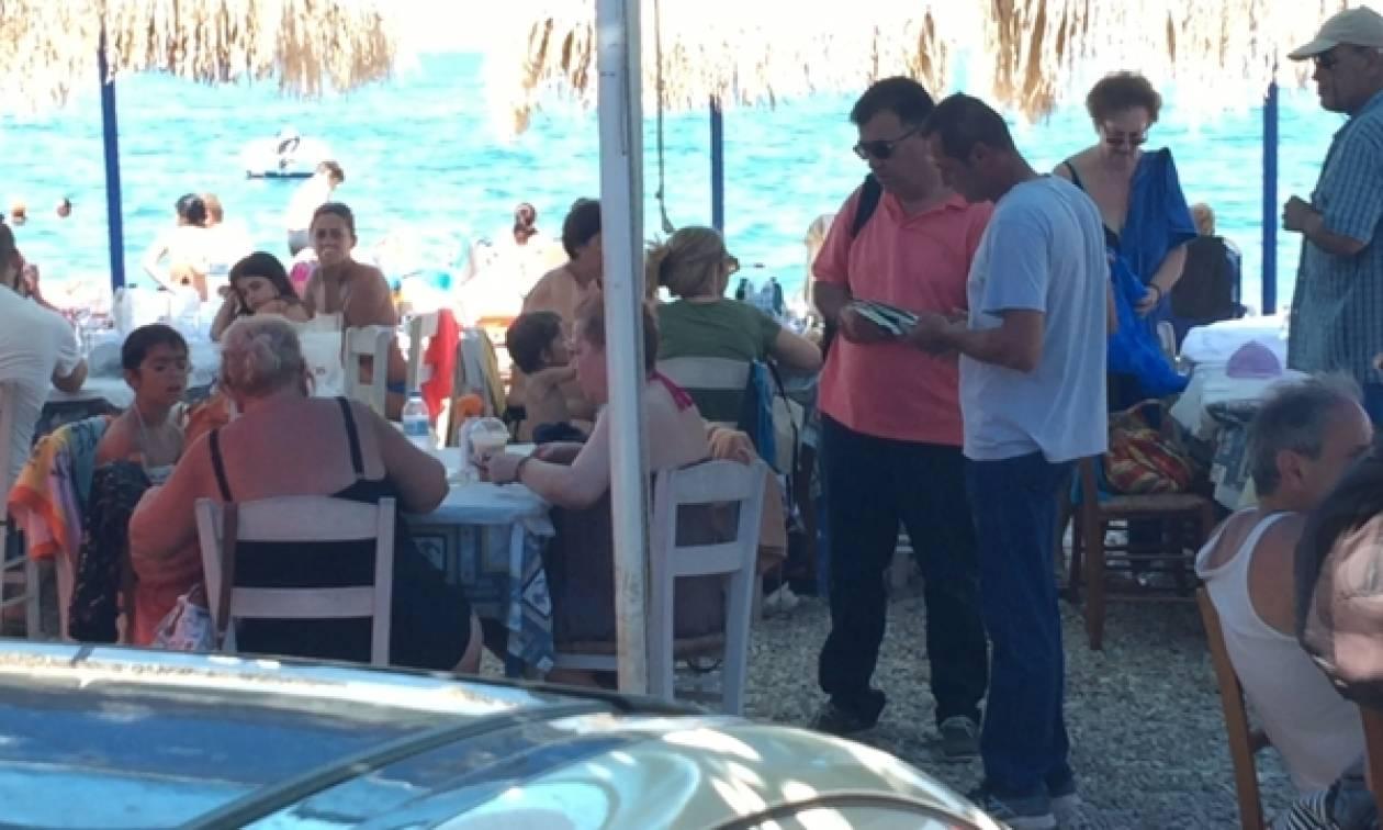 Έβγαλε «λαβράκι» το ΣΔΟΕ: Δεκάδες παραβάσεις σε καφετέριες και ταβέρνες (pics&vid)