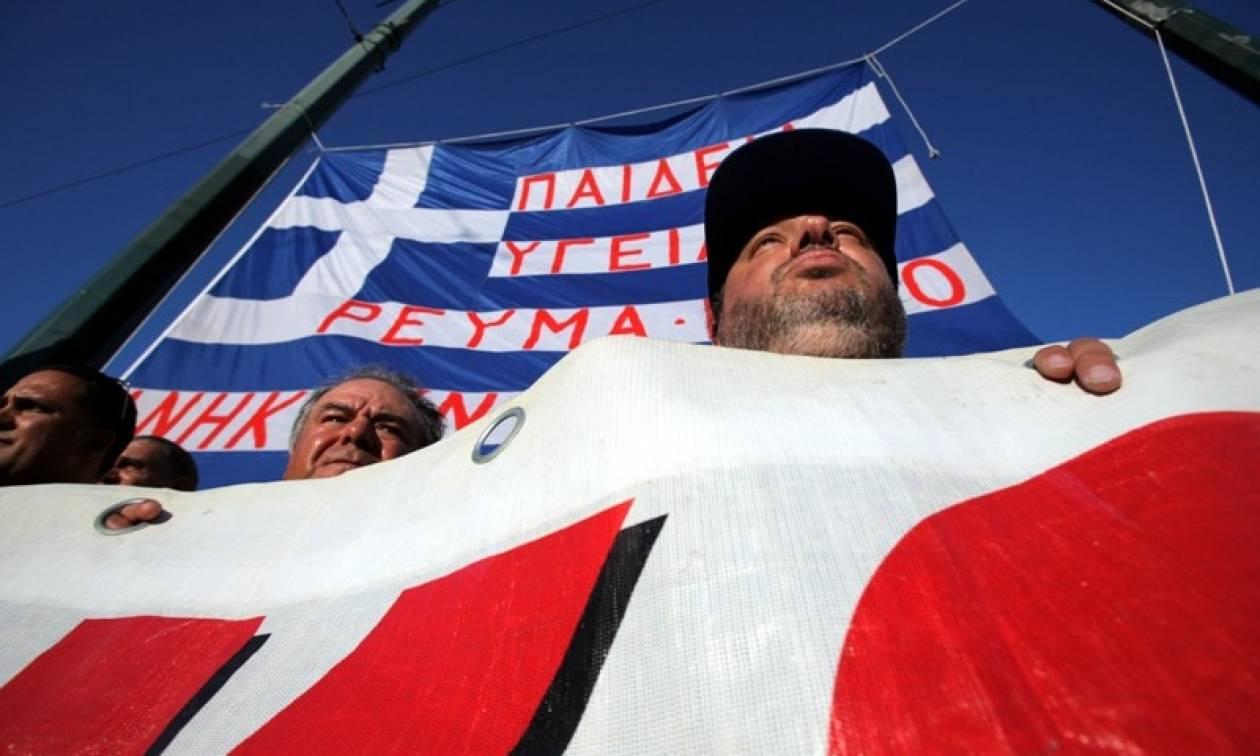 Συγκέντρωση διαμαρτυρίας ΓΕΝΟΠ κατά της απόσχισης του ΑΔΜΗΕ από τη ΔΕΗ
