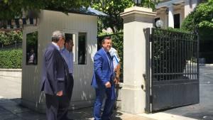 Σε εξέλιξη η συνάντηση Τσίπρα – Νικολόπουλου για τον εκλογικό νόμο (pics+vid)