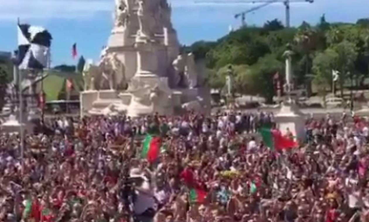Το βίντεο... WOW του Ρονάλντο για την υποδοχή των Πορτογάλων