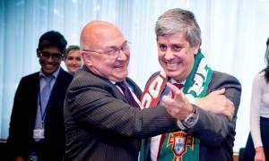 Eurogroup: Το …γλέντησε ο υπουργός Οικονομικών της Πορτογαλίας(pics)