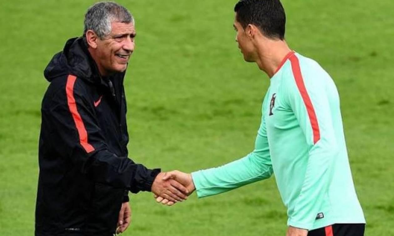 Euro 2016: Αποθέωσε Σάντος ο Κριστιάνο!