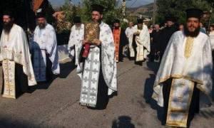 Το Καλονέρι υποδέχτηκε το λείψανο του Αγίου Εφραίμ