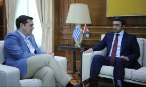 Τι συζήτησε ο Τσίπρας με τον ΥΠΕΞ των Ηνωμένων Αραβικών Εμιράτων