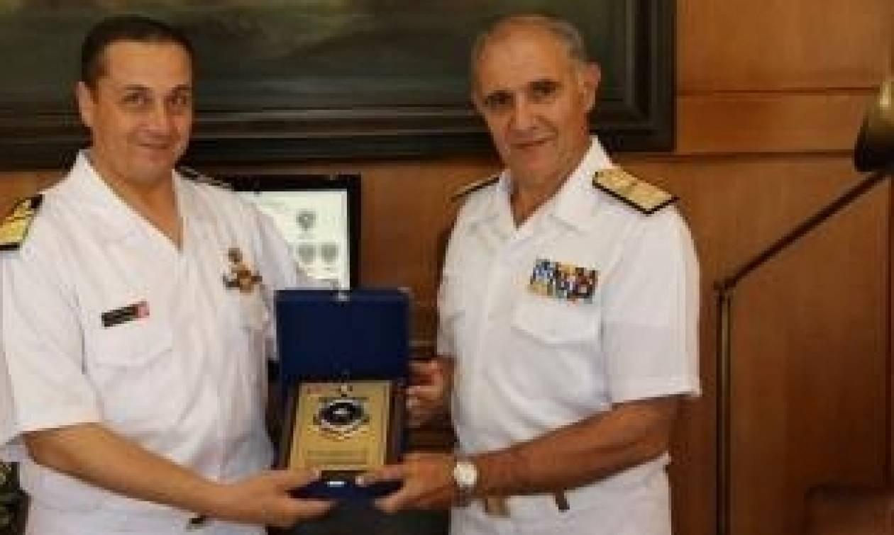 Συνάντηση Αρχηγού ΓΕΝ με τον Αρχηγό του Πολεμικού Ναυτικού της Τυνησίας