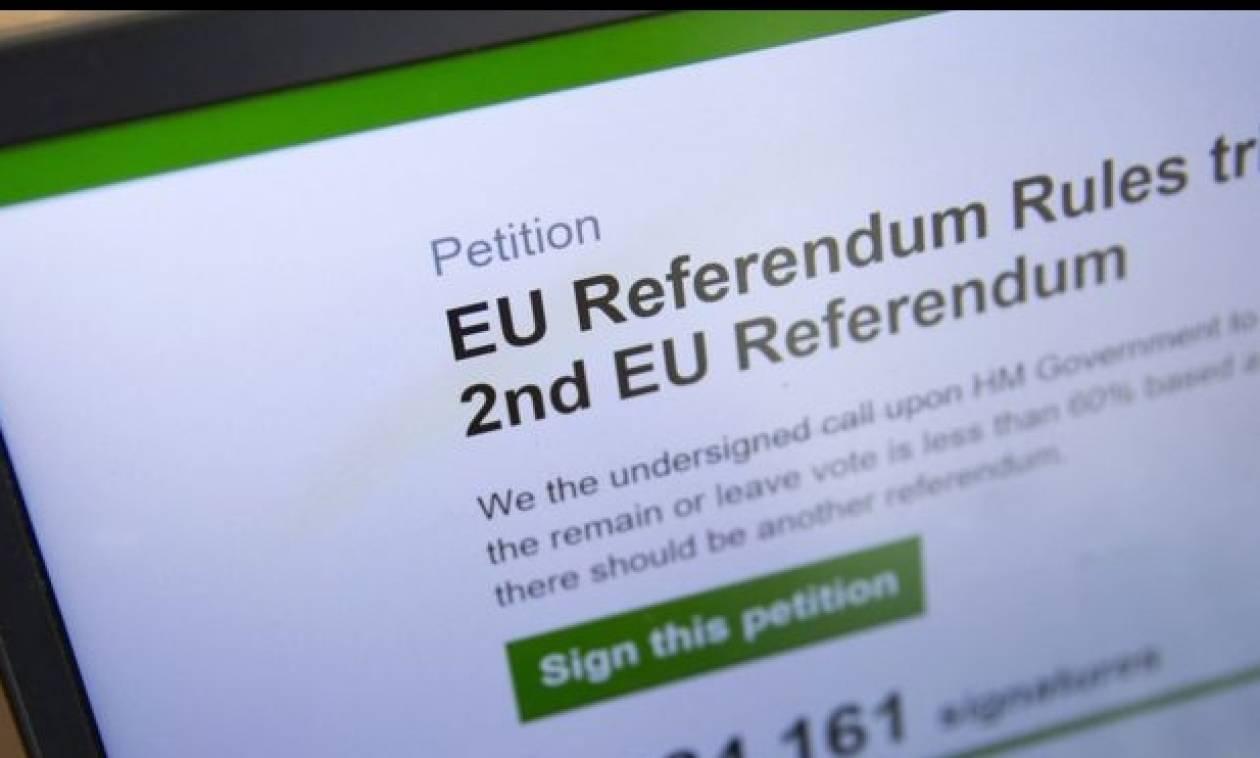 Βρετανία: Τον Σεπτέμβριο στη Βουλή η αίτηση για δεύτερο δημοψήφισμα