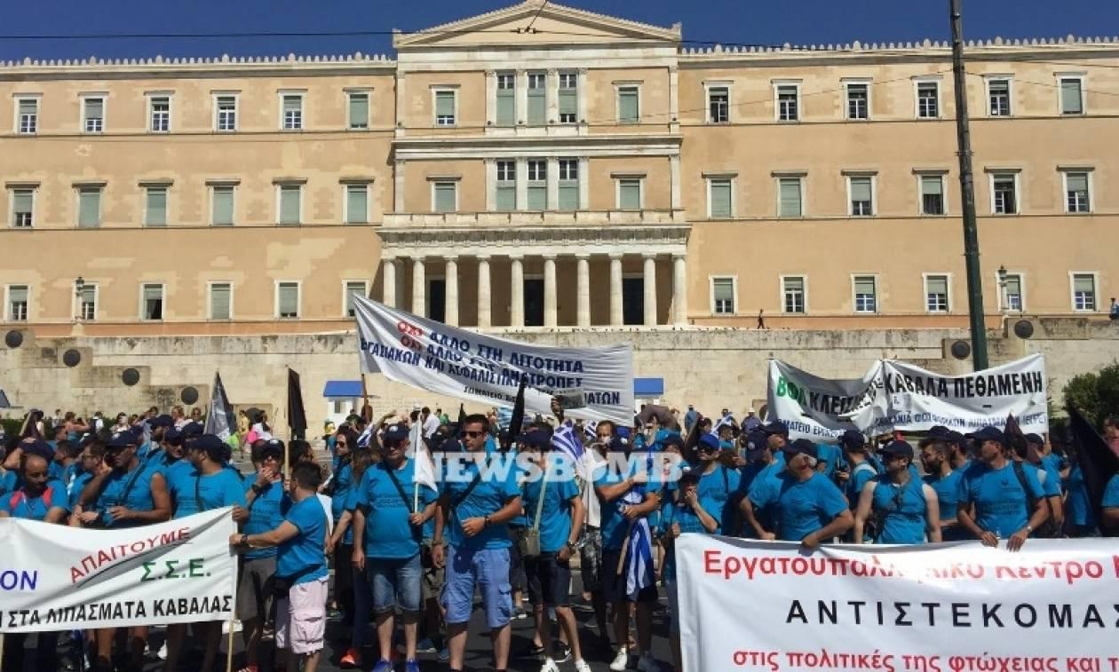 Οργή των εργαζομένων στα «Ελληνικά Λιπάσματα» κατά Λαυρεντιάδη
