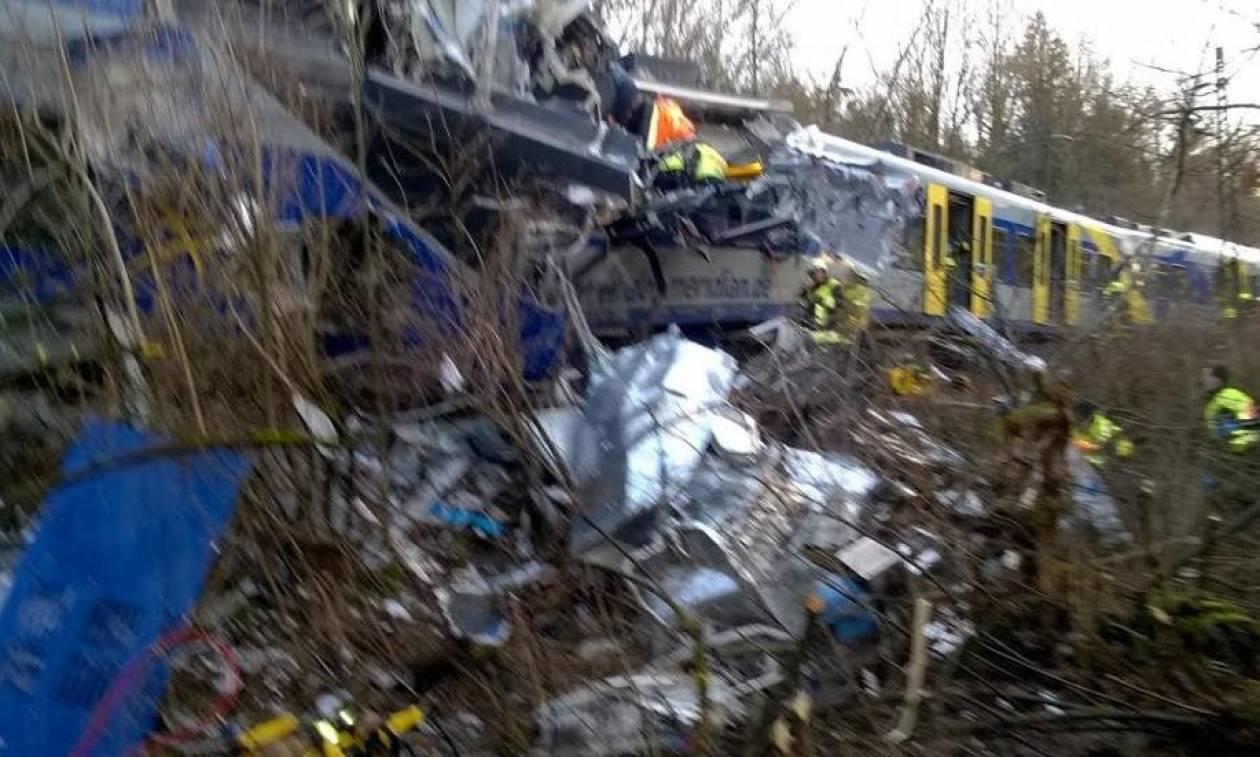 Σύγκρουση τρένων: Το τέταρτο δυστύχημα στην Ευρώπη από τις αρχές του 2016 (vid)