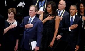 Ντάλας: Εθνική συμφιλίωση ζητά ο Ομπάμα υπεράνω των φυλετικών διαχωρισμών (Pics & Vids)