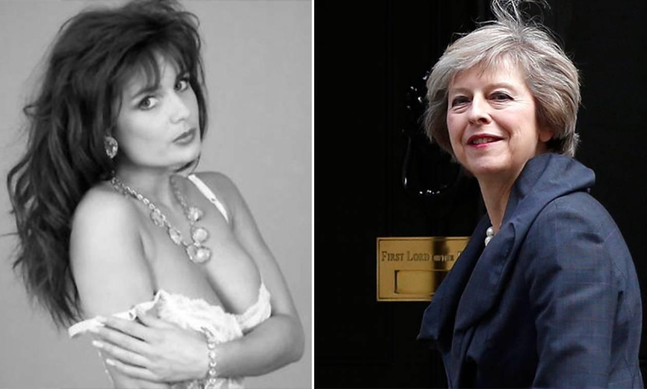 H πορνοστάρ Τερέζα Μέι επιμένει ότι δεν είναι η πρωθυπουργός της Βρετανίας (Pics)