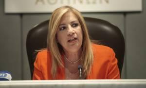 Εκλογικός νόμος - Γεννηματά: Η κυβέρνηση αναγορεύει σε ρυθμιστικό παράγοντα τη Χρυσή Αυγή