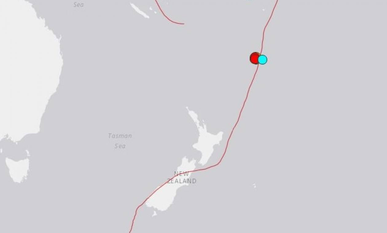 Ισχυρός σεισμός 6,3 Ρίχτερ ανοιχτά της Νέας Ζηλανδίας
