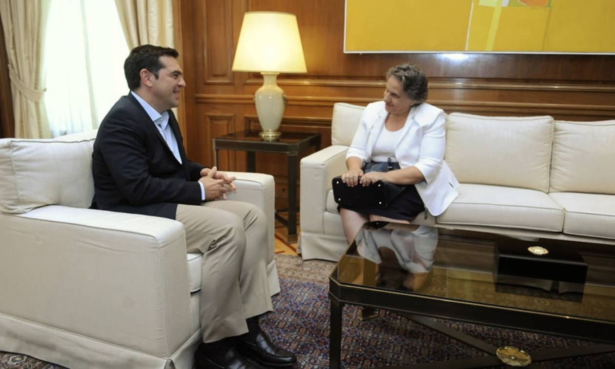 Τι συζήτησε ο Τσίπρας με τη νέα Εισαγγελέα του Αρείου Πάγου