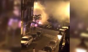Συναγερμός στο Βέλγιο: Εκρήξεις και μεγάλη πυρκαγιά στις Βρυξέλλες (Pics & Vids)