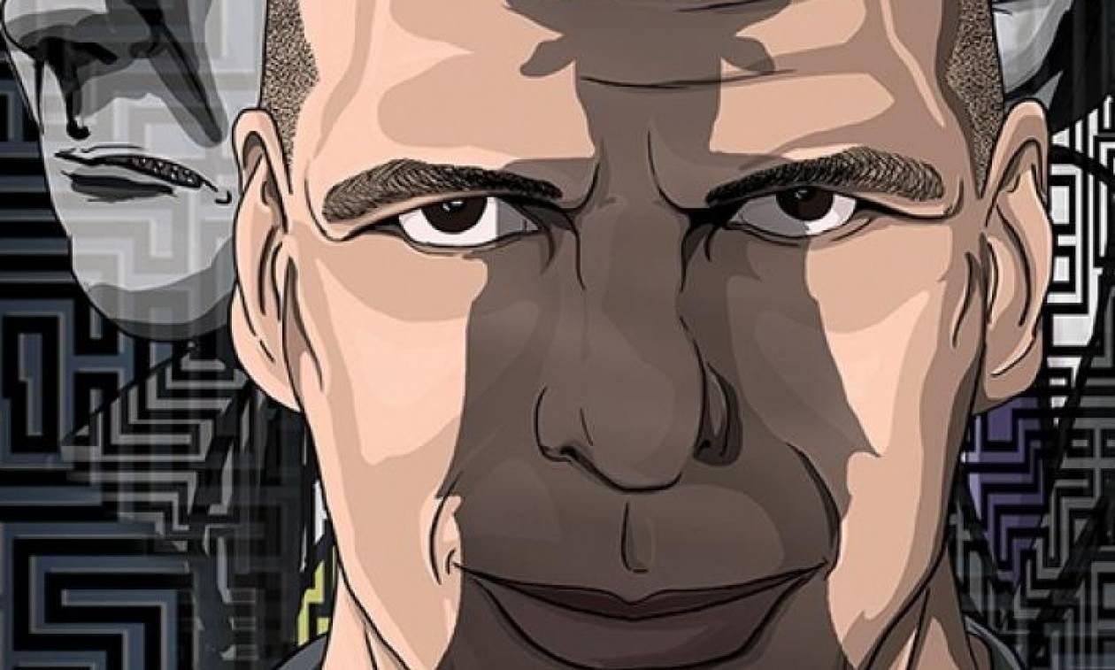 «Ουάου», ο Γ. Βαρουφάκης έγινε ήρωας σε κόμικ
