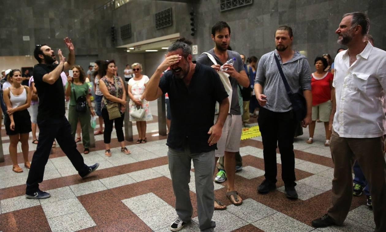 Γιατί έμειναν άφωνοι όσοι πήγαν στο μετρό του Συντάγματος σήμερα - Δείτε τι έγινε (photos)