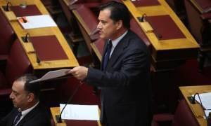 Άδωνις για ΤΡΑΙΝΟΣΕ και ΣΥΡΙΖΑ: Το 2013 έλεγαν ότι τα 300 εκατ. ευρώ ήταν προκλητικά λίγα... (photo)