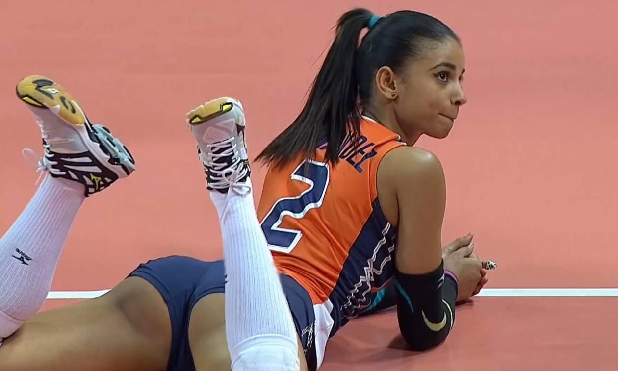 Γνωρίστε την πιο σέξι αθλήτρια βόλεϊ (Video)