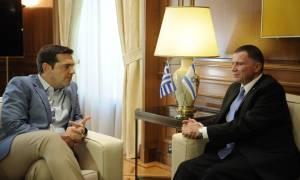 Ολοκληρώθηκε η συνάντηση του Τσίπρα με τον πρόεδρο του Κοινοβουλίου του Ισραήλ
