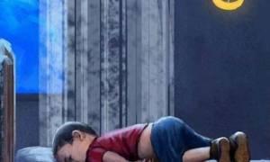 Άγνωστοι βεβήλωσαν μνημείο του Αϊλάν στη Μερσίνη της Τουρκίας