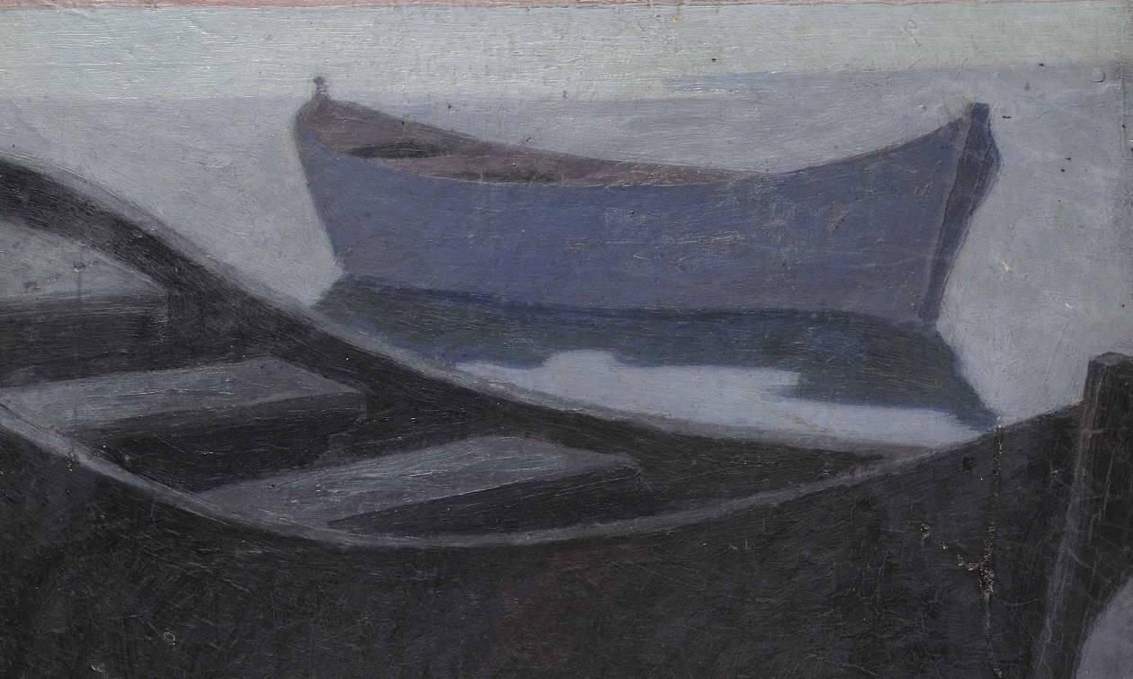 Εκθεση ζωγραφικής του Νίκου Δραγούμη και της Λύντια Μπορζέκ στην Σαντορίνη (pics)