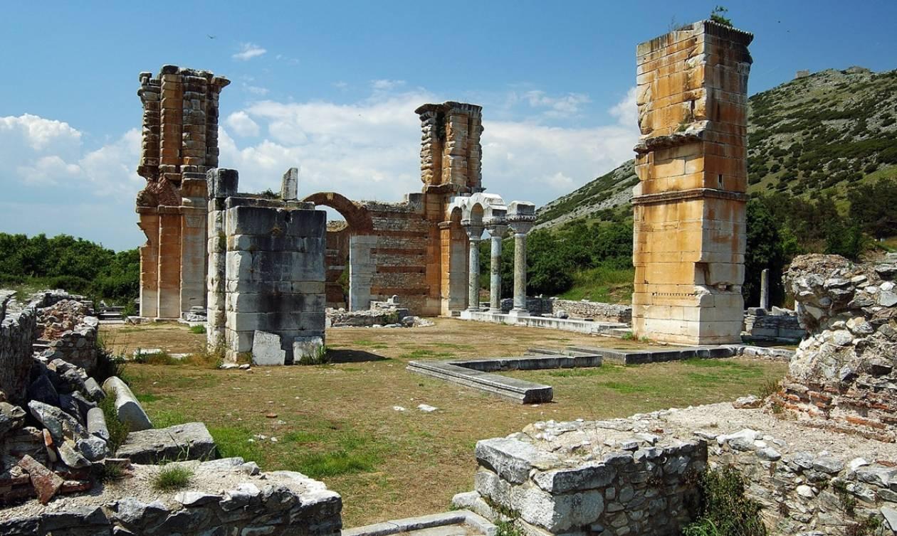 Μνημείο Παγκόσμιας Κληρονομιάς της UΝESCO ο αρχαιολογικός χώρος των Φιλίππων