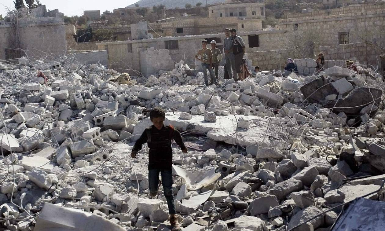 Συρία: Τουλάχιστον 11 άμαχοι νεκροί από αεροπορικές επιδρομές