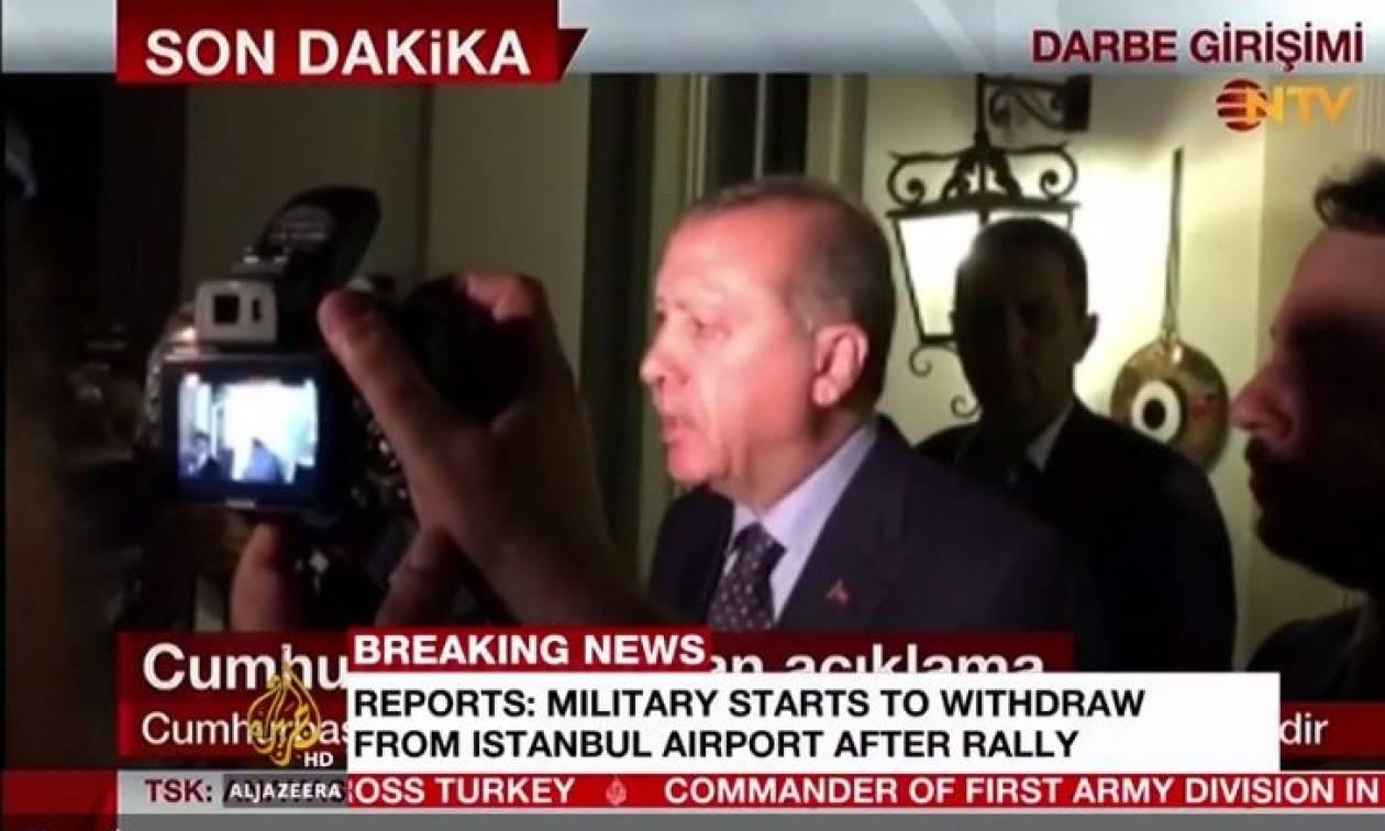 Πραξικόπημα Τουρκία LIVE: Ζωντανή εικόνα από πλατεία Ταξίμ τώρα!