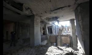 Πραξικόπημα Τουρκία: Συγκλονιστικές εικόνες απο την βομβαρδισμένη Τουρκική Βουλή