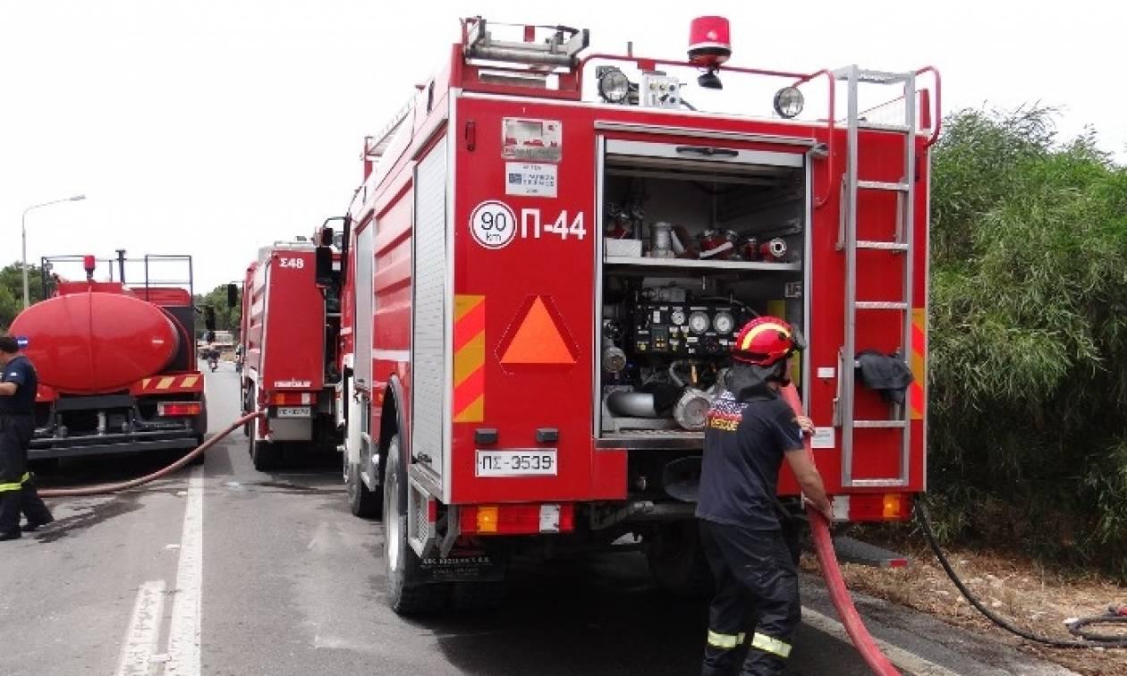 Προσοχή: Πυρκαγιά σε φορτηγό στην Αθηνών – Λαμίας