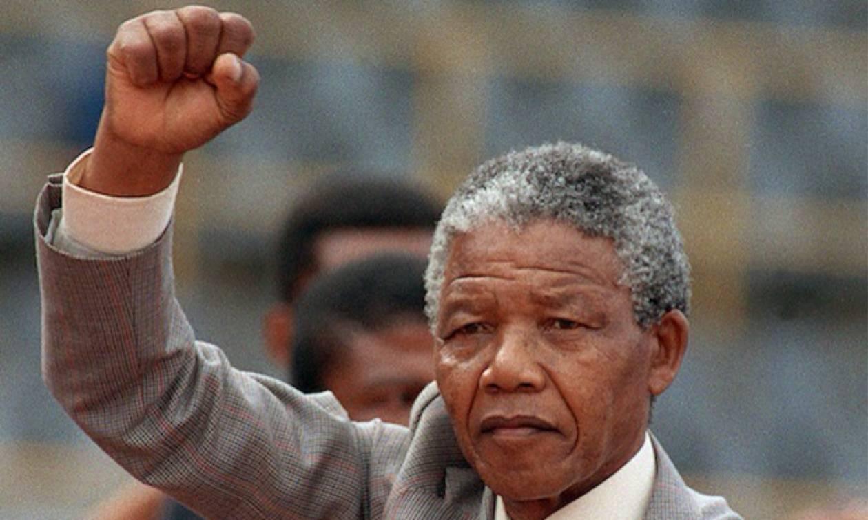 Σαν σήμερα το 1918 γεννήθηκε ο Νέλσον Μαντέλα