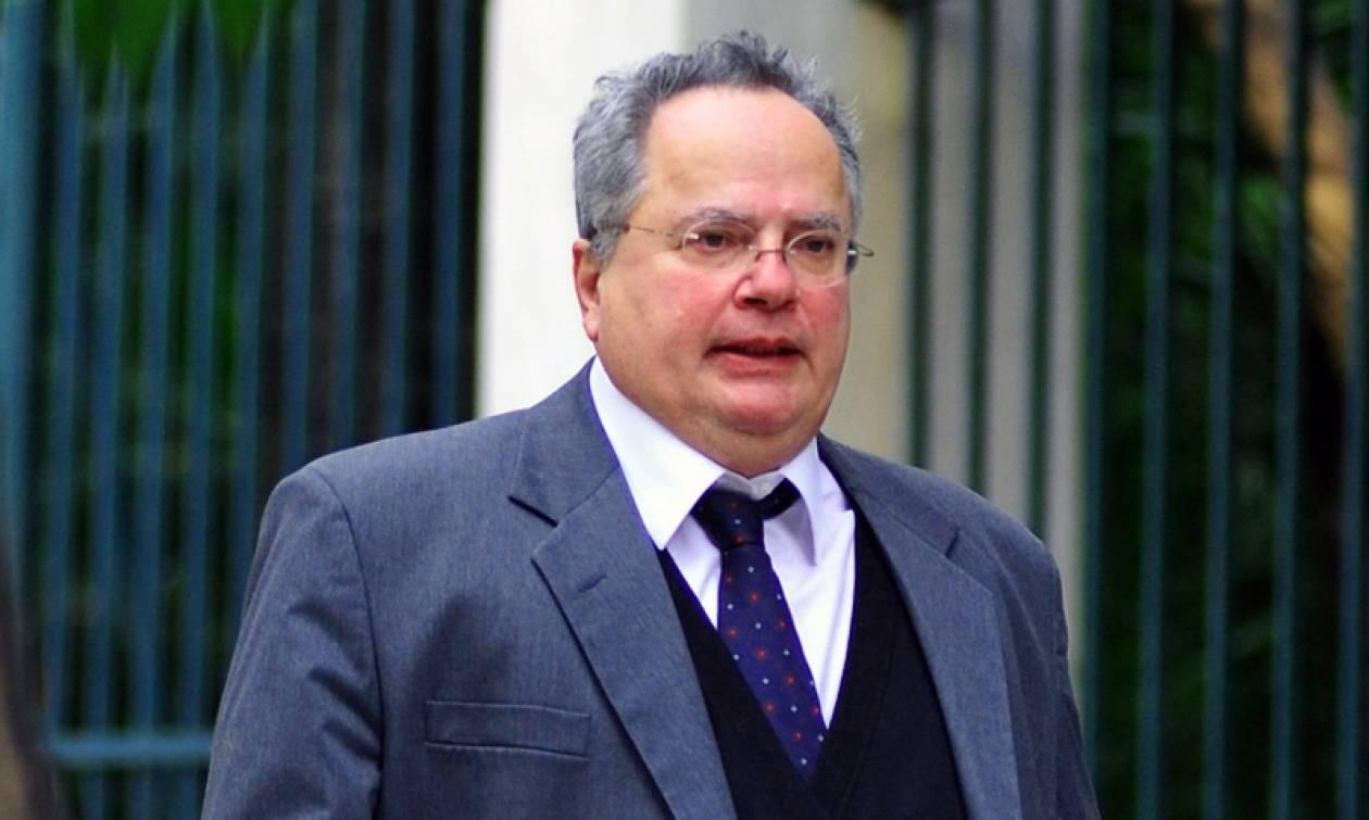 Στις Βρυξέλλες ο Ν. Κοτζιάς, στο συμβούλιο των ΥΠΕΞ της ΕΕ