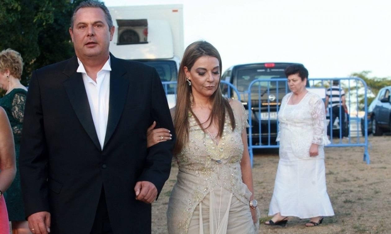 Αποκλειστικό: Ο Καμμένος, η σύζυγός του κυρία Ελένη Τζούλη και οι «πελάτες» υψηλής φοροδιαφυγής!