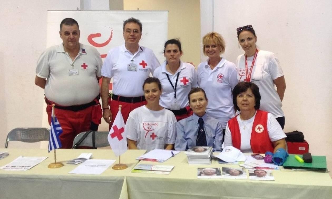 Ο Ελληνικός Ερυθρός Σταυρός στο Φεστιβάλ Εθελοντισμού «Voluntary Action» στην Τεχνόπολη
