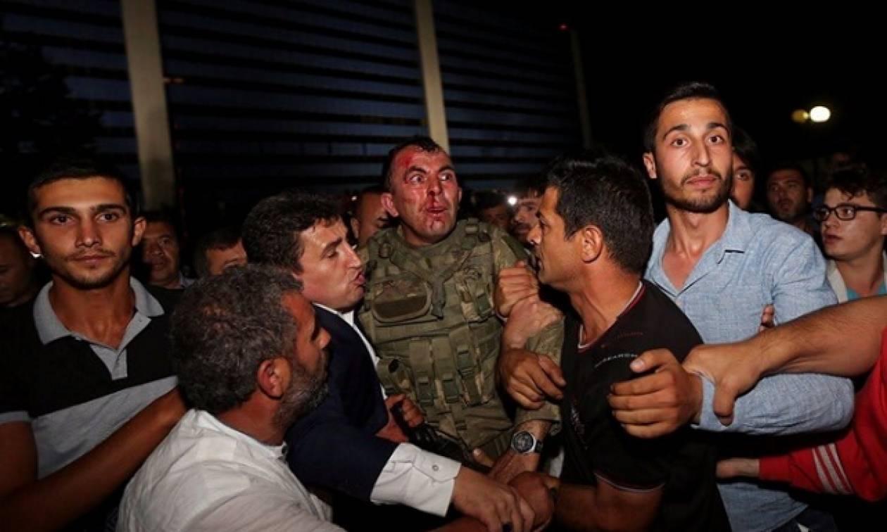 Φρικιαστικές εικόνες από τα βασανιστήρια των πραξικοπηματιών στην Τουρκία (photos)