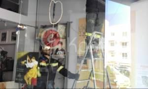 Ηράκλειο: Έπαθε σοκ όταν κατάλαβε γιατί χτυπάει ο συναγερμός στο κατάστημα του (photos)