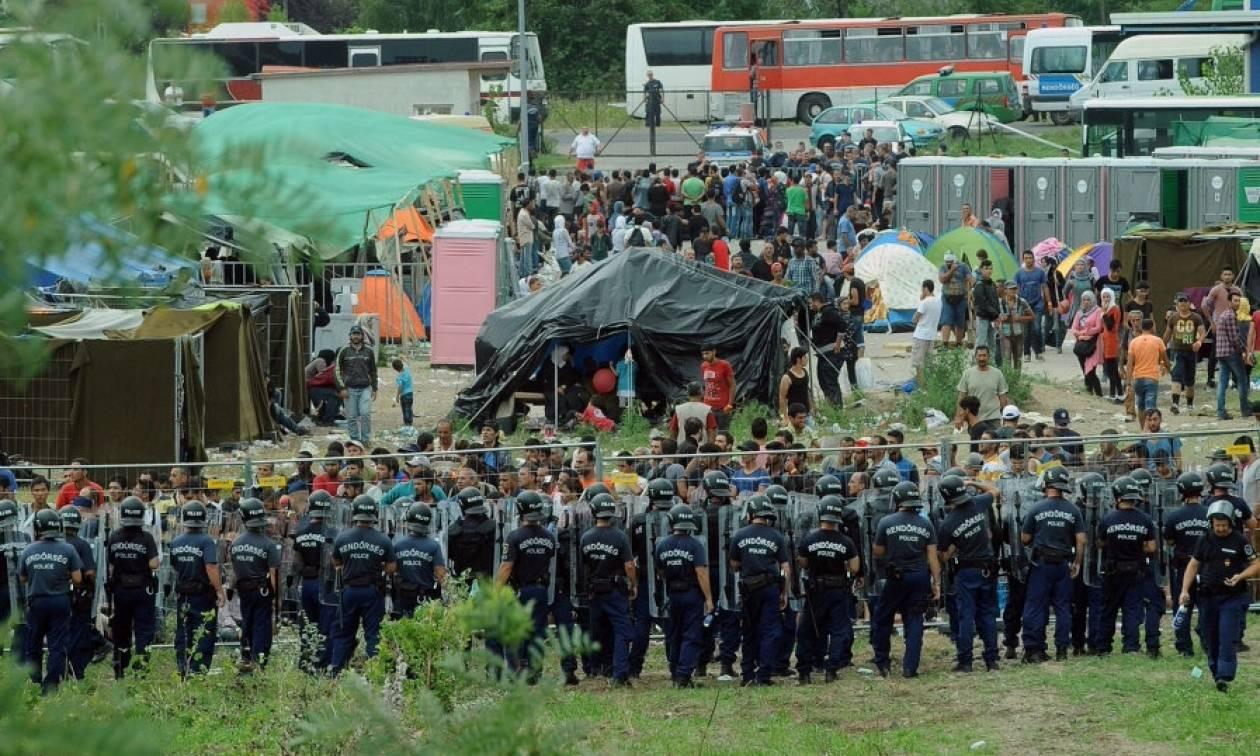Άγριες συμπλοκές μεταξύ 200 προσφύγων σε καταυλισμό στην Ουγγαρία
